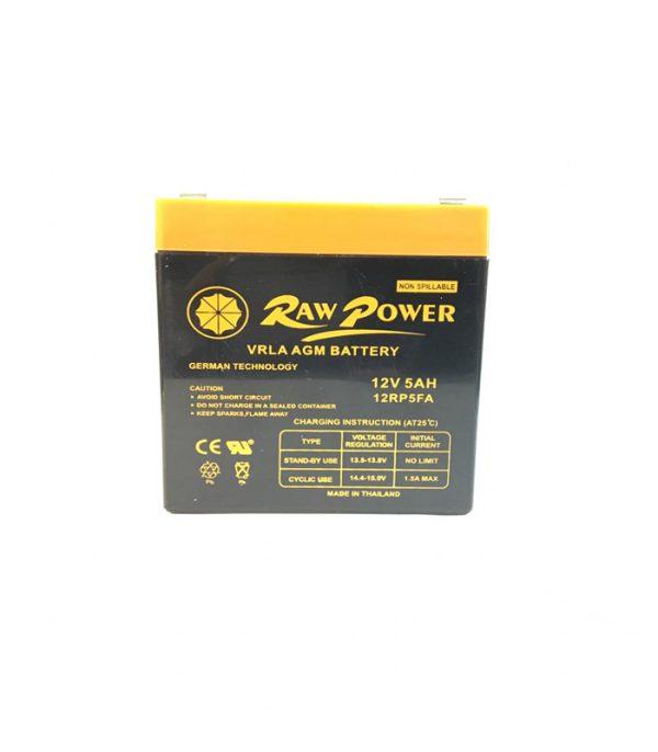 باتری خشک Raw power