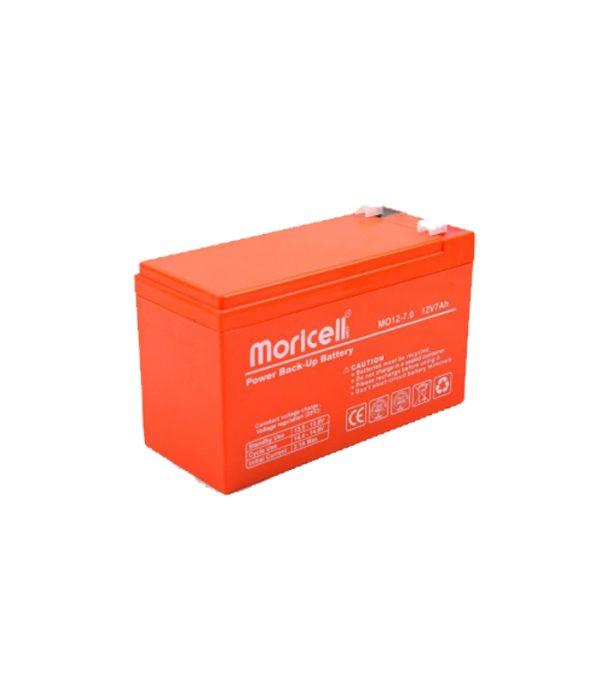 باطری 12 ولت -7 آمپرساعت - موریسل Moricell