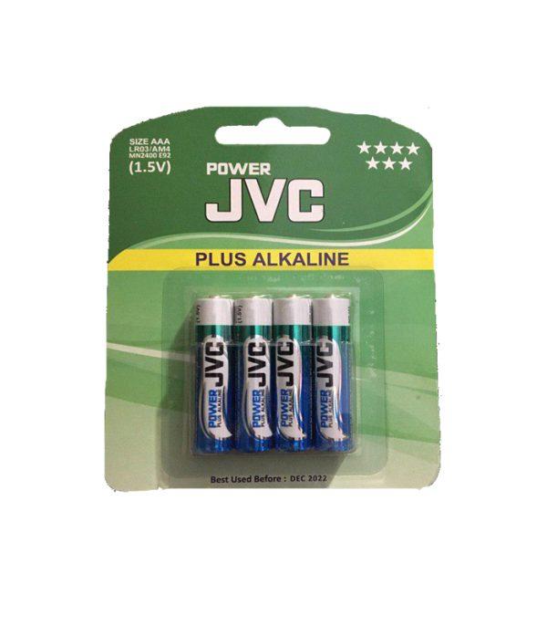 باتری نیم قلمی پلاس آلکالاین جی وی سی